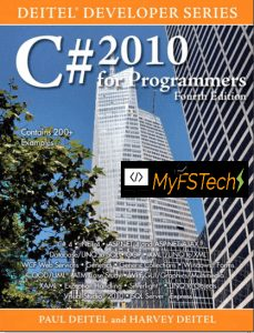 C# 2010 FOR PROGRAMMERS FOURTH EDITION