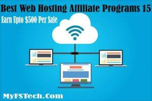 15 Best Web Hosting Affiliate Programs